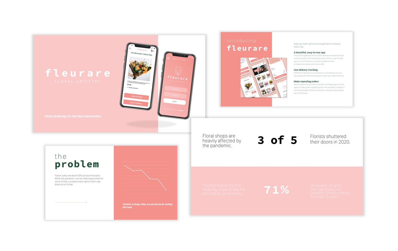 4 PowerPoint Slides From Presentation for Fleurare